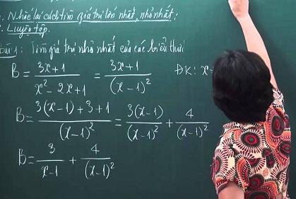 gia sư toán lớp 8